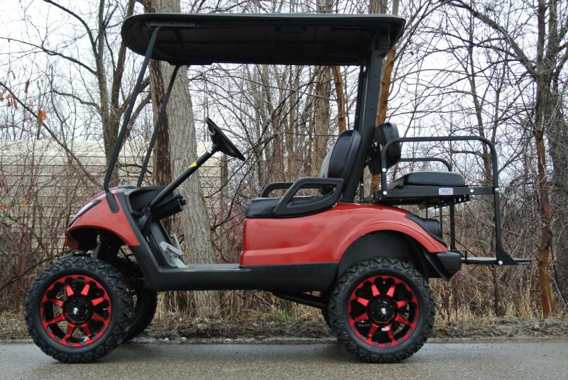 2014 Custom Yamaha Drive 48v Electric Golf Cart #8993
