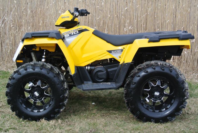2016 POLARIS SPORTSMAN 570 EFI 4X4 ATV Yellow #0760