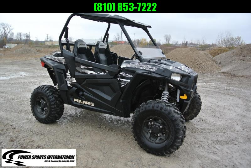 2018 POLARIS RZR S 900 EPS Black Sport Side-by-Side #3008