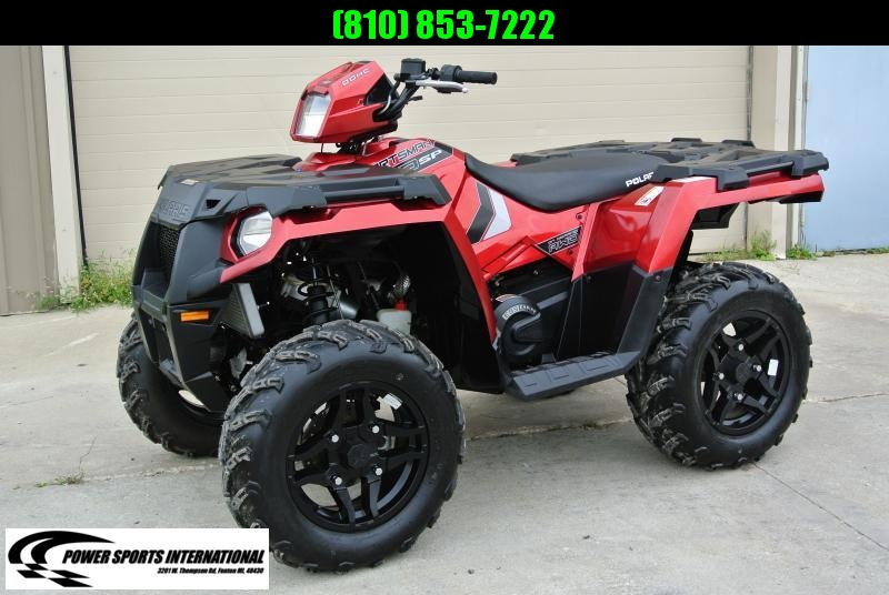 2017 POLARIS SPORTSMAN 570 SP Metallic Red 4X4 ATV #5954