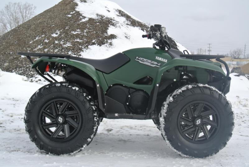 2016 YAMAHA YFM70KDXG KODIAK 700 4WD ATV #6916