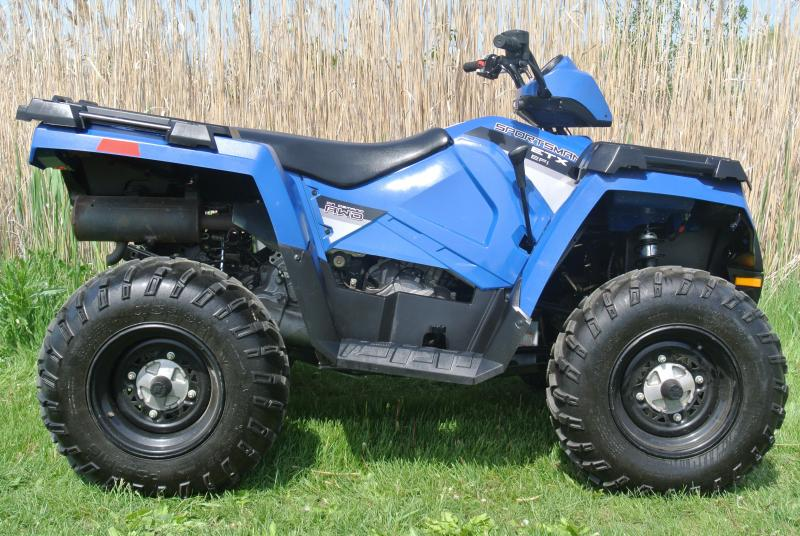 2015 Polaris Sportsman ETX 4X4 ATV Like new with Low Hrs. #8766