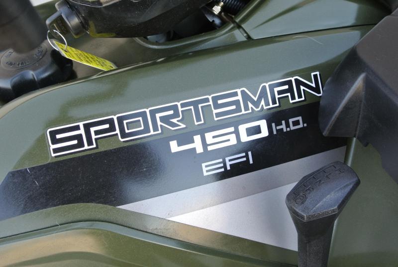 2016 POLARIS SPORTSMAN 450 EPS SAGE GREEN #7017