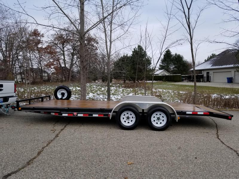2019 PJ Trailers Heavy Duty Car Hauler Trailer w/ Ramps #0175