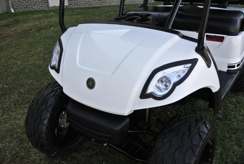 2015 Custom Yamaha Drive Lifted Gas Golf Cart Stock #0719