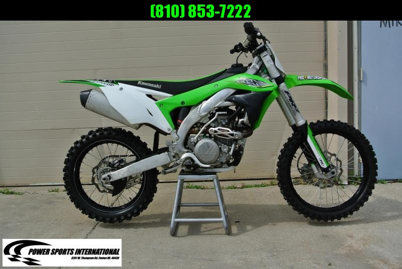 2017 KAWASAKI KX450HHF Motorcycle MX Dirt Bike MONSTER ENERGY #4858