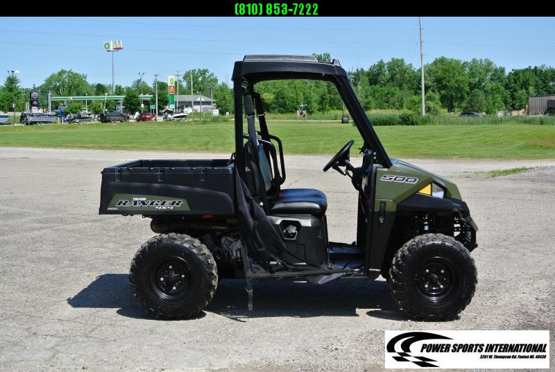 2019 POLARIS RANGER 500 HUNTER GREEN SIDE BY SIDE #5038