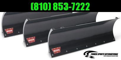2018 Warn ATV and UTV Snowplow and Winch System