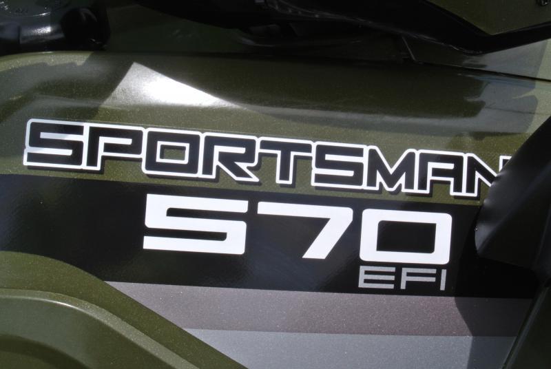 2015 POLARIS SPORTSMAN 570 (ELECTRIC FUEL INJECTION) #5257