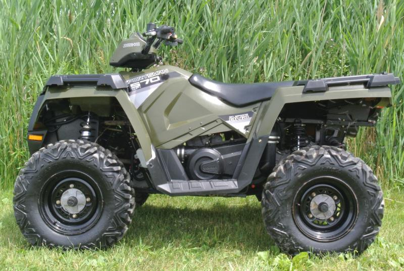 2015 POLARIS SPORTSMAN 570 (ELECTRIC FUEL INJECTION) #5257