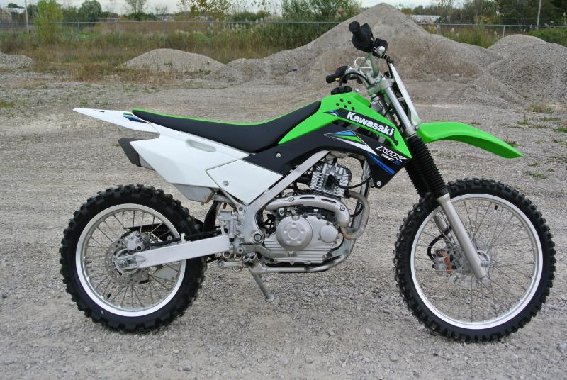2014 KAWASAKI KLX140BEF Electric Start BIG WHEEL Youth Motorcycle #5230