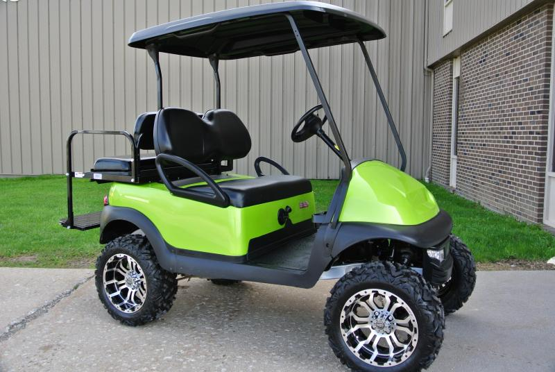 2015 Club Car Precedent Fuel Injected Gas Golf Cart #7330
