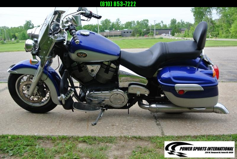 2002 Victory Motorcycles Deluxe Touring Motorcycle #1745