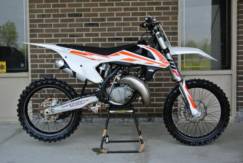 2017 KTM 150 SX 2-Stroke Motorcycle MX Off Road #5556
