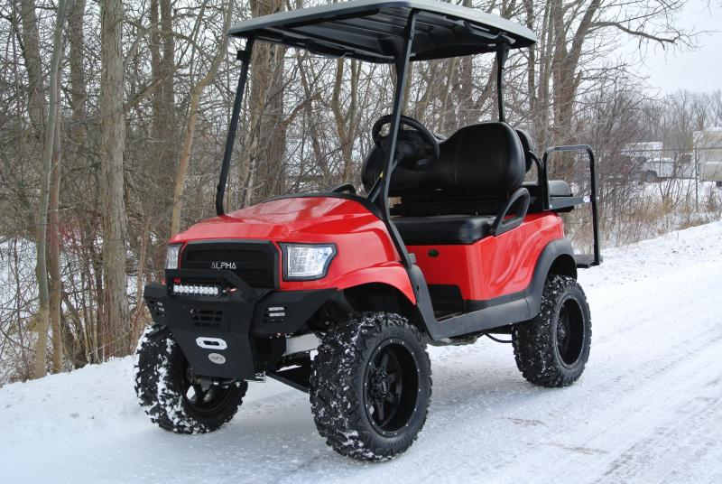 2013 Club Car gas w/ ALPHA body and thousands in extras. #7644