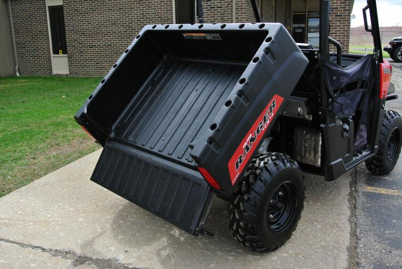 2018 POLARIS RANGER 500 RED SIDE BY SIDE #5502