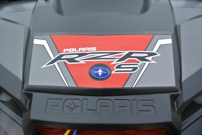 2016 POLARIS RZR S 900 EPS Black and Red Sport Side-by-Side #9165