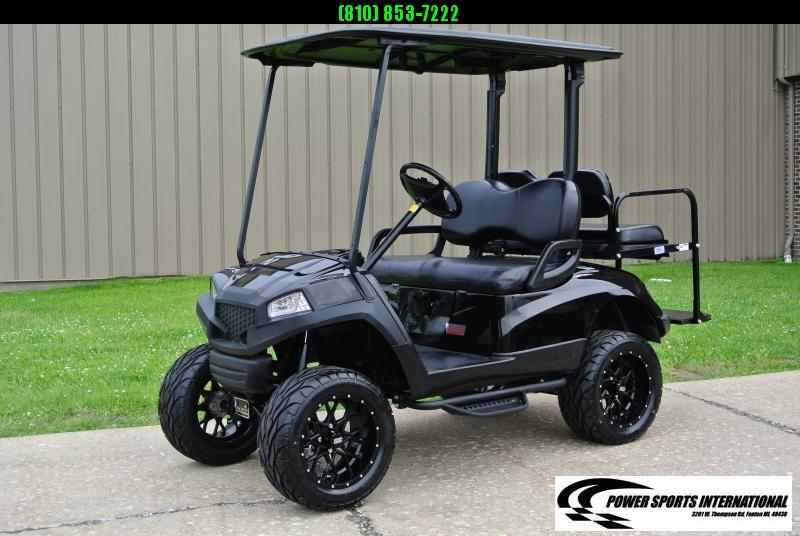 2011 Custom Yamaha Drive GAS POWERED Golf Cart #4154