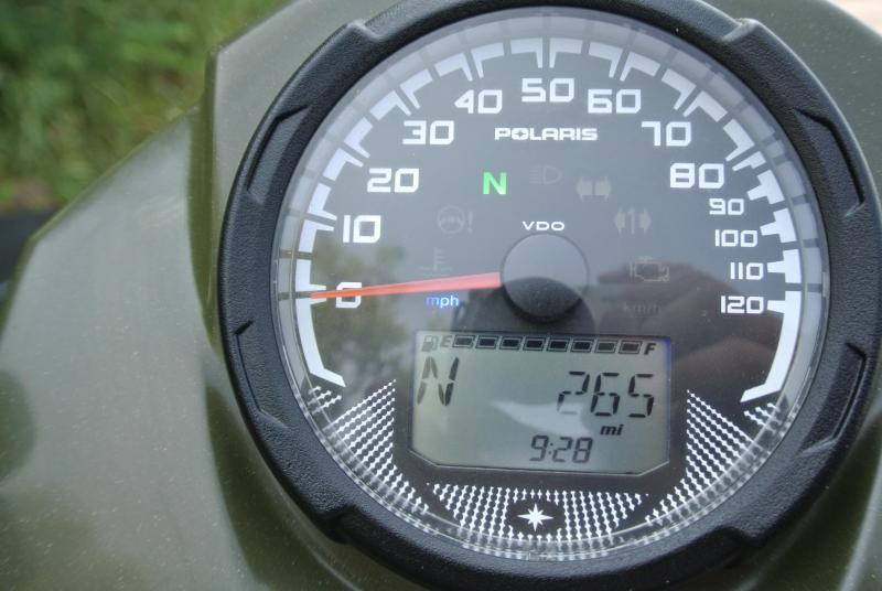 2017 POLARIS SPORTSMAN 450 H.O. UTILITY ATV HUNTER GREEN #8366