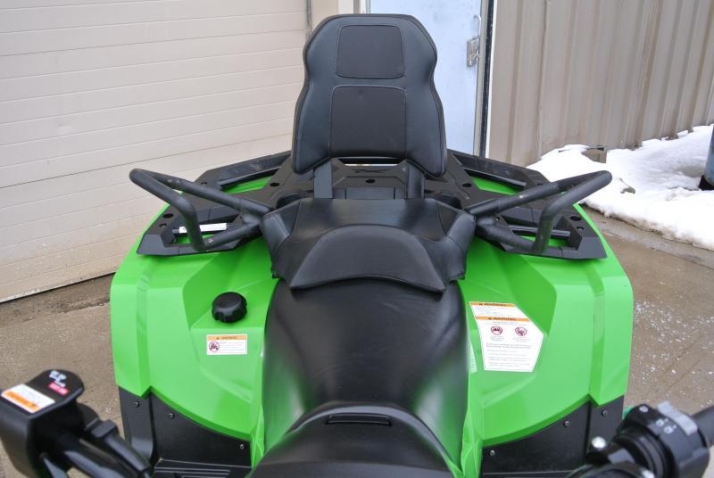 2017 ARCTIC CAT ALTERRA 500 TRV 4X4 Green 2-Up UTILITY ATV #3258