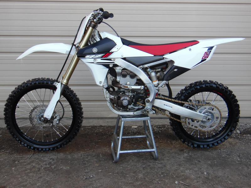 2014 Yamaha YZ250F Motorcycle MX MINT CONDITION Less than 5 hrs