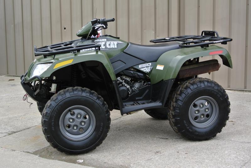 2005 Arctic Cat 650 V2 4X4 Green UTILITY ATV w/ Extras #1083