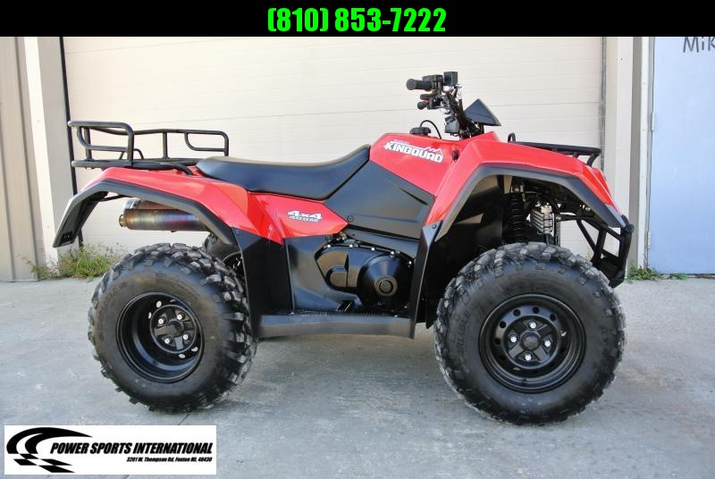 2017 SUZUKI KING QUAD 400 ASI AUTOMATIC 4X4 ATV #0989