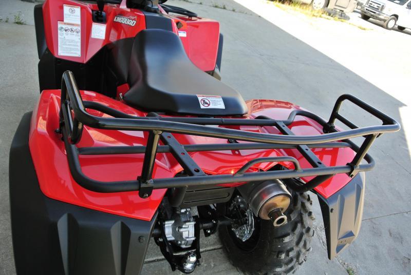 2017 SUZUKI KING QUAD 400 ASI AUTOMATIC 4X4 ATV #0989
