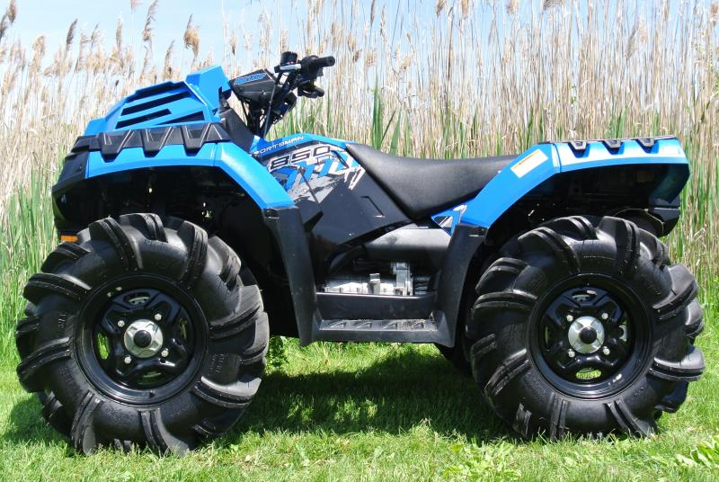 2017 POLARIS SPORTSMAN 850 HIGH LIFTER EDITION #0198
