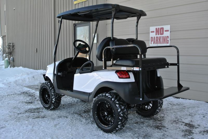 2013 Club Car gas w/ ALPHA body and thousands in extras. #7533