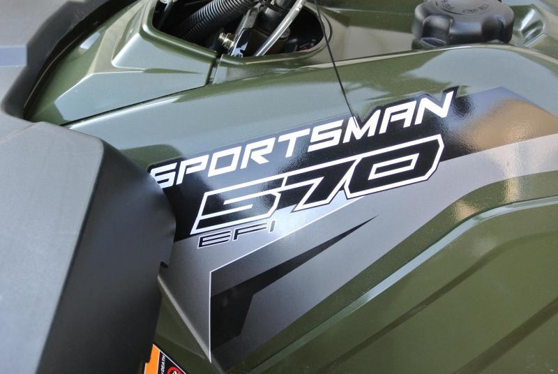 NEW 2018 POLARIS SPORTSMAN 570 EPS Power Steering  #3966