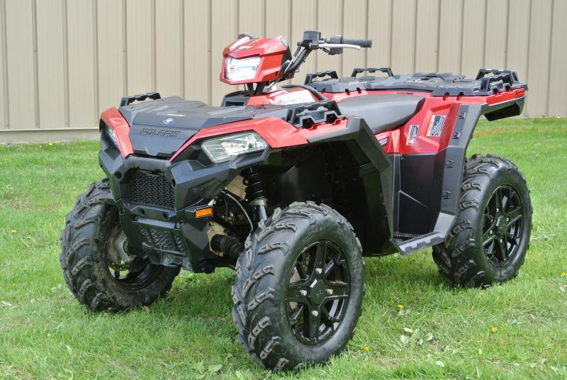 2018 Sportsman 850 SP Polaris RED EPS Power Steering  #2180