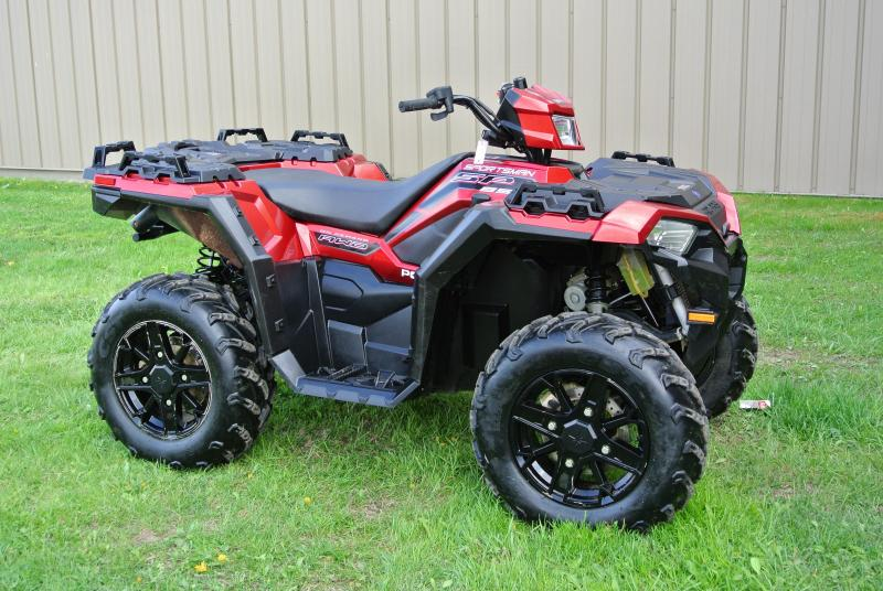 2018 Sportsman 850 SP Polaris RED EPS Power Steering  #2180