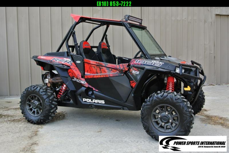 2018 POLARIS RZR XP 1000 (ELECTRIC POWER STEERING) RED AND BLACK #8158