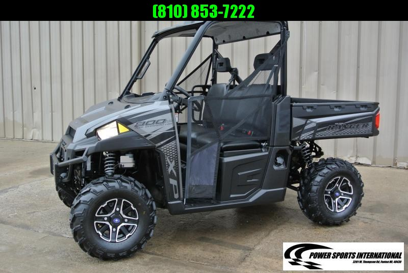 2018 POLARIS RANGER XP 900 EPS SILVER & BLACK FULL SIZE #8445