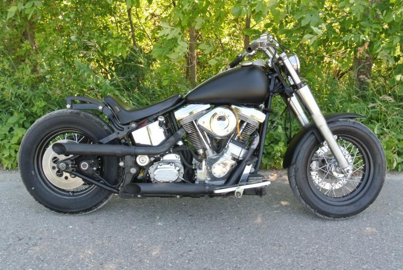 1989 Harley Davidson Softail Motorcycle