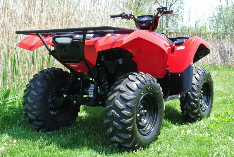 2016 YAMAHA YFM70GPXG GRIZZLY EPS 4WD RED #0333