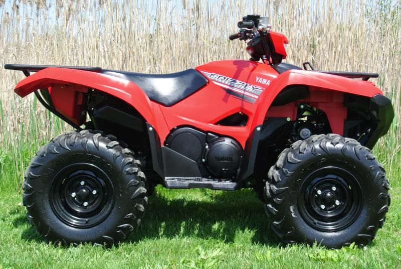 2016 YAMAHA YFM70GPXG GRIZZLY EPS 4WD RED #0333