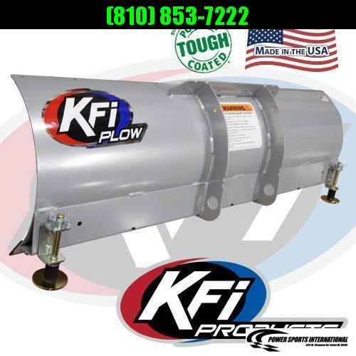 """2017 KFI 54"""" Open Trail Plow and Winch System"""