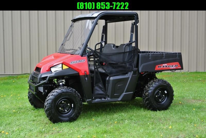 2018 POLARIS RANGER 500 RED SIDE BY SIDE #0938