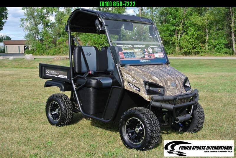 2019 American Land Master 48V E-CRUISER 4-Seater (2WD) Utility Side-by-Side (UTV)