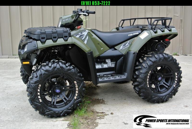 2010 Polaris Sportsman 850 XP HUNTER EDITION 4X4 ATV  #2785