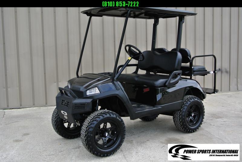 2011 Custom Yamaha Drive GAS POWERED Golf Cart #4151