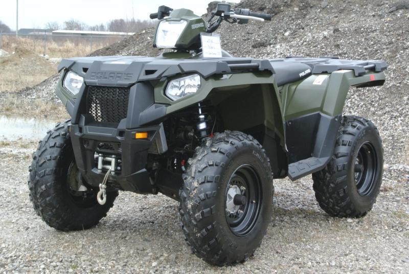 2016 POLARIS SPORTSMAN 570 EFI 4X4 ATV w/ WINCH #4474