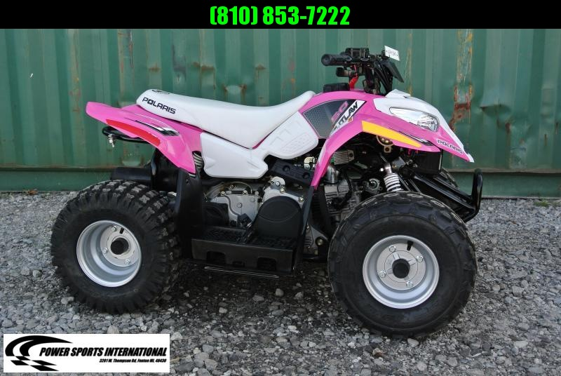 2016 Polaris Outlaw 50 Youth ATV Kids Four Wheeler HOT PINK #0768