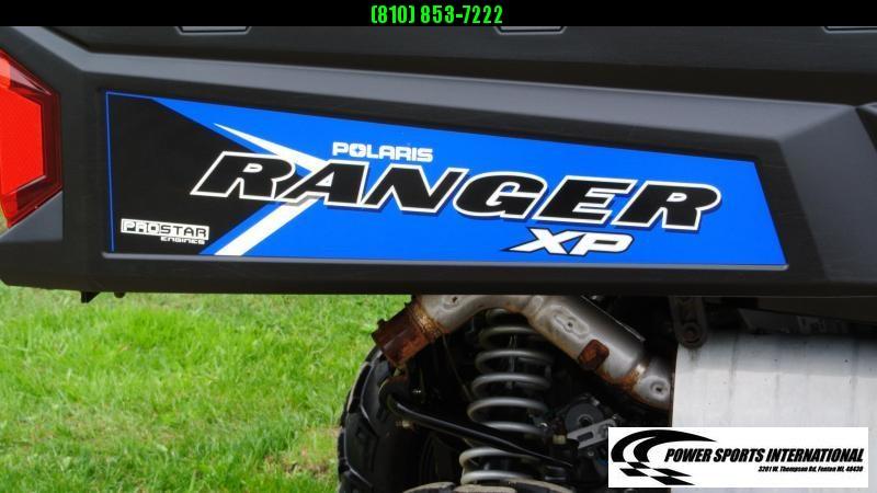 2018 POLARIS RANGER XP 900 EPS Metalic Blue Utility Side-by-Side #4077