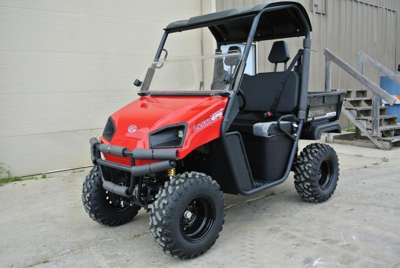 2018 American Land Master LS 677 EFI RED Utility Side-by-Side (UTV) #0256