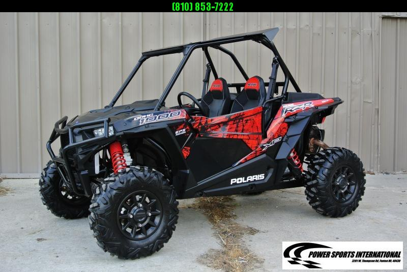 2018 POLARIS RZR XP 1000 (ELECTRIC POWER STEERING) RED AND BLACK #7874