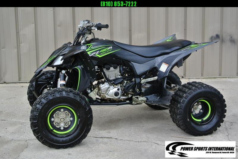 2017 YAMAHA YFZ450R SPECIAL EDITION SPORT ATV Fuel Injected #4388