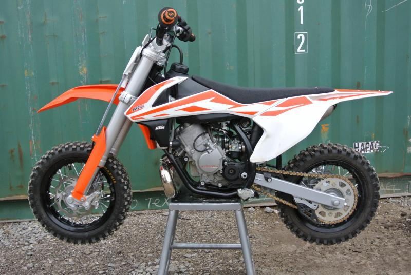 2017 KTM 50SX Mini 50cc 2-Stroke Motorcycle MX Youth #3540